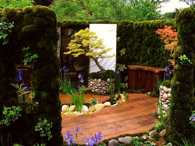 Miniature japanese garden design to feng shui homes and for Japanese garden pond design