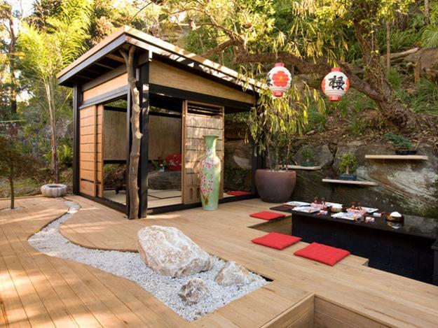 Beautiful Japanese Garden Design, Landscaping Ideas for ... on Small Backyard Japanese Garden Ideas id=15409