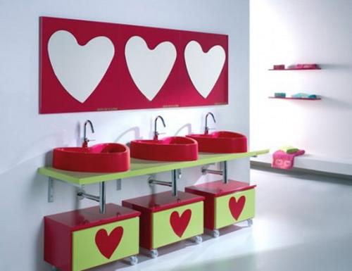 Colorful Kids Bathrooms, Designer Furniture, Accessories and