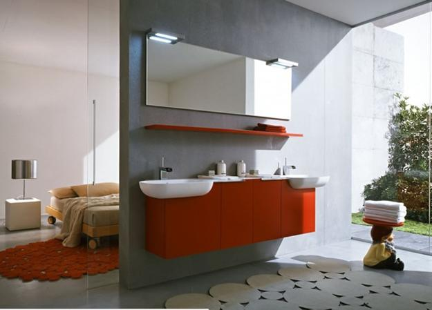 Create a fun, bright and modern bathroom with these ...