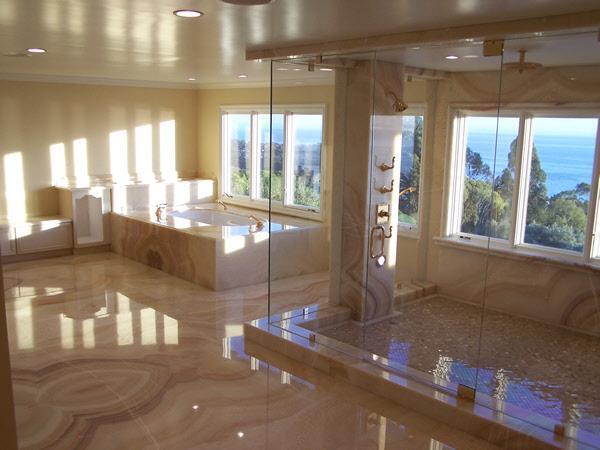 glass shower design