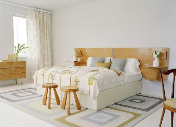 Bed Headboard Design Made With Twigs And Branches For Modern Bedroom Decorating In Eco Style