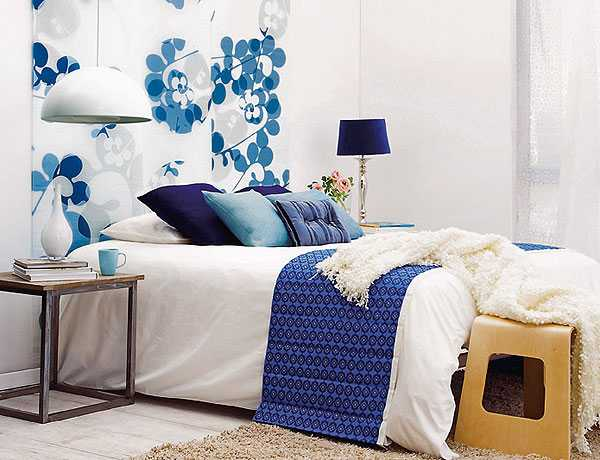floral wallpaper for wall decoration and bed headboard designs