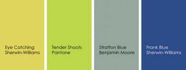 Modern Blue And Green Color Trends Combinations