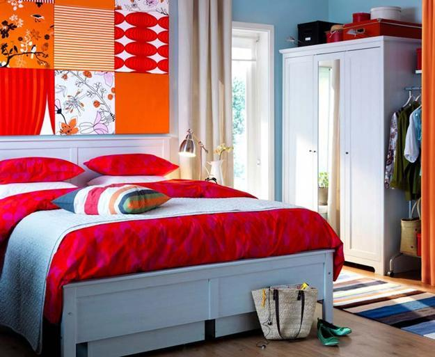 matching your interior design color schemes with blue color shades