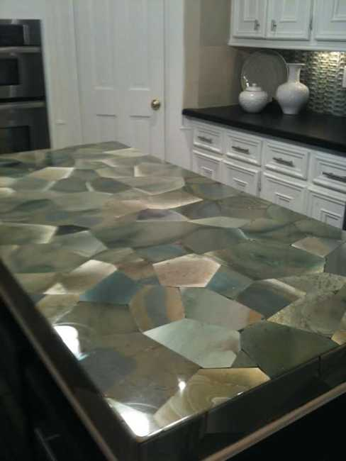 Great ideas for your modern kitchen countertop material