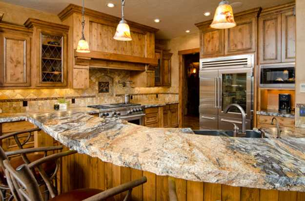 outstanding kitchen counter design ideas | 40 Great Ideas for Your Modern Kitchen Countertop Material ...