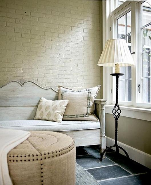 Bedroom Decor White Walls: 33 Modern Interior Design Ideas Emphasizing White Brick Walls
