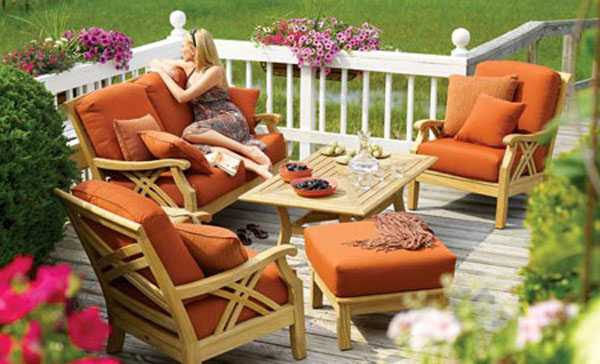 modern outdoor furniture for small spaces space saving small patio design with large sofa and small side tables modern outdoor furniture creating perfect seating areas