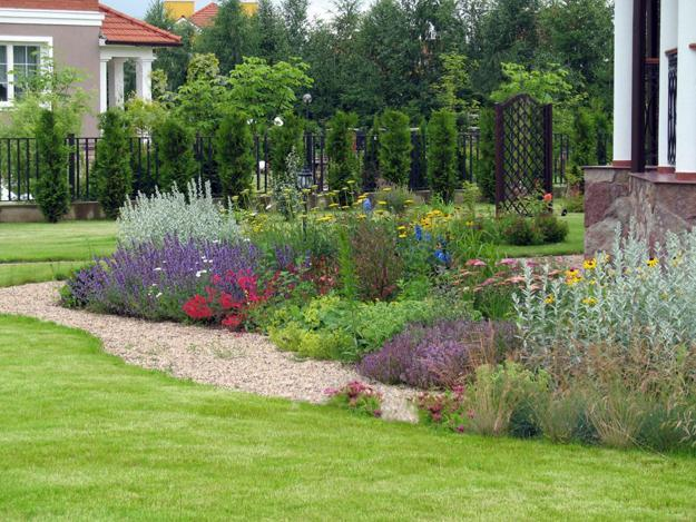 Natural Backyard Landscaping Ideas, Save Money Creating ... on Backyard Garden Design id=53956