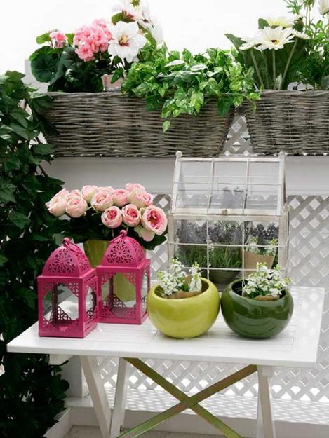Artificial Flower Arrangements Outdoor Decor