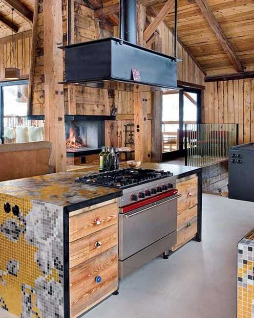 Interior Design With Reclaimed Wood And