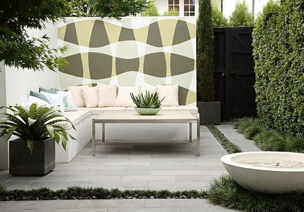 Two Modern Patio Ideas Turning Small Backyard Designs Into