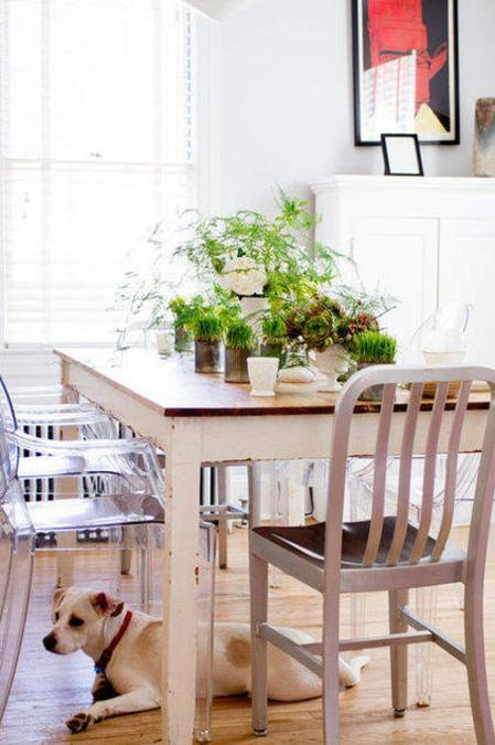 Creative Green Table Centerpiece Ideas For Spring Decorating