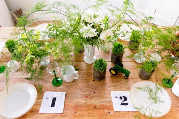 Bon Table Centerpiece Ideas For Spring Decorating