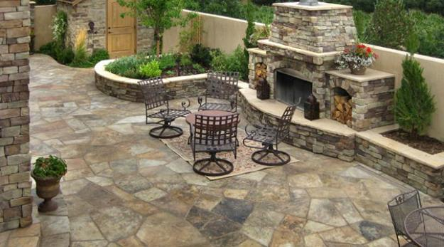 30 Stone Wall Pictures And Design Ideas To Beautify Yard