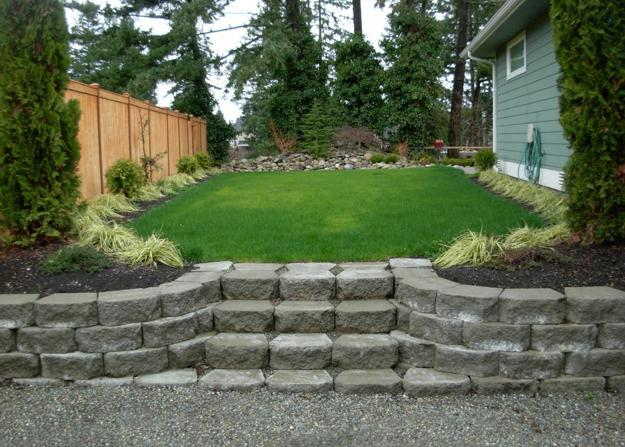 30 Stone Wall Pictures and Design Ideas to Beautify Yard ... on Backyard Wall Design id=77944