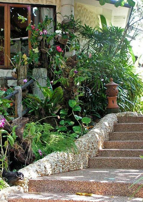 Bamboo Garden Landscaping Patio