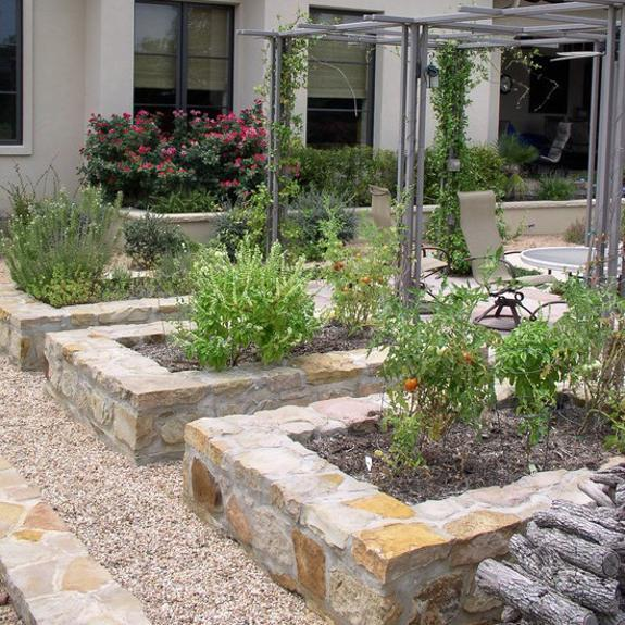 How To Design My Backyard: 15 Charming Garden Design Ideas With Stone Edges And