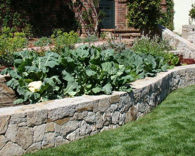 15 Charming Garden Design Ideas with Stone Edges and Raised Beds on stone walkways ideas, stone fireplaces ideas, stone fencing ideas, stone fire pits ideas, stone paths ideas, stone shed ideas, stone mulch ideas,