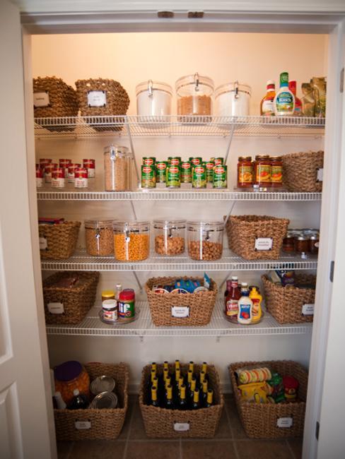 Kitchen Pantry Organizing Tips And Beautiful Storage Ideas