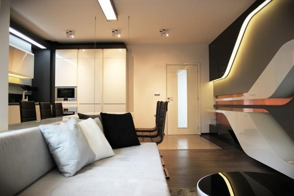 Modern Apartment Ideas With Futuristic Vibe Decorating