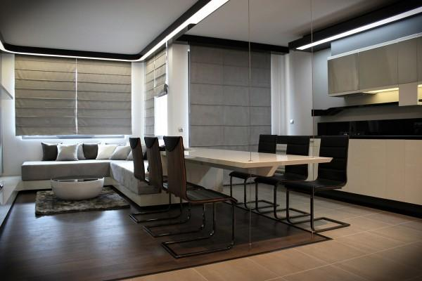 Modern Apartment Ideas with Futuristic Vibe, Decorating Small ...
