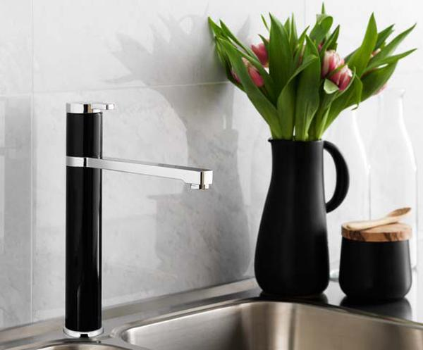 Black Kitchen Sinks, Countertops and Faucets, 25 Ideas ...