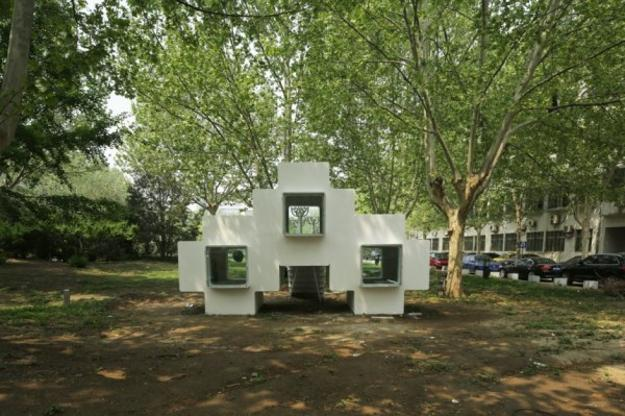 fiberglass modules for residential architectural designs