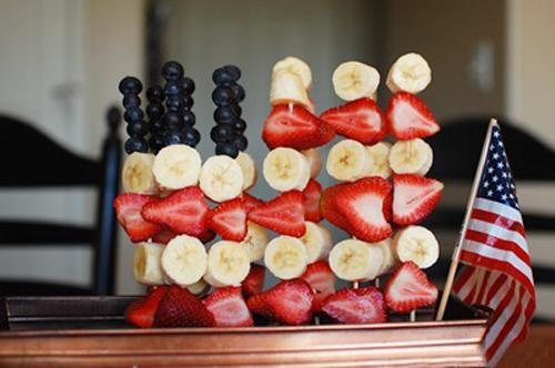edible decorations for the 4th of july party table