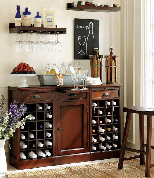Living Room Bar Ideas: 30 Beautiful Home Bar Designs, Furniture And Decorating Ideas