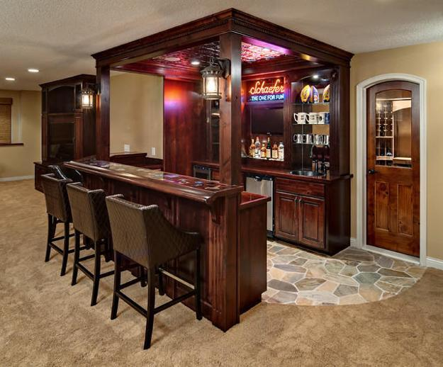 Small Home Bar Furniture And Decorative Accessories