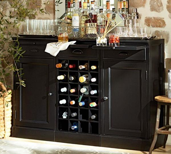 Modern space saving furniture for home bar designs - Bars for small spaces ...