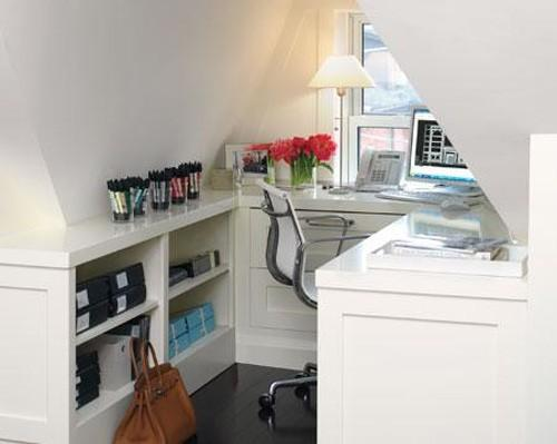 Summer Decorating Ideas Bringing Bright Room Colors Into Home Office Designs