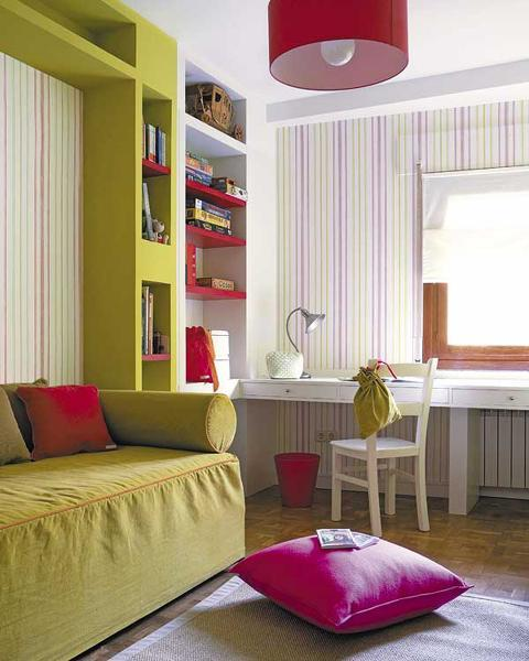 Summer Decorating Ideas Bringing Bright Room Colors Into