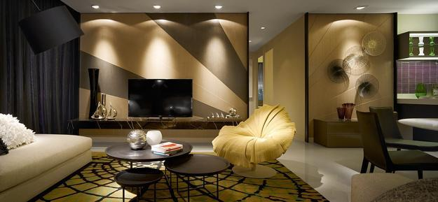 Modern Interior Design and Decor Inspired by Fashion Trends and ...