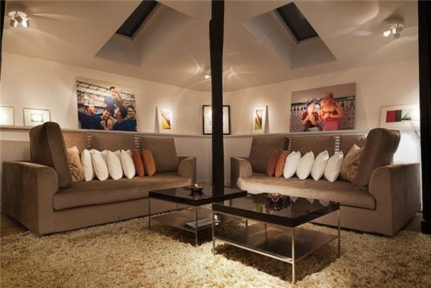 Elegant Swedish Loft Living Ideas Impress with Exposed Beams ...