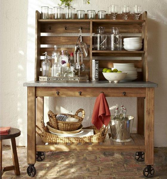 Home Bar Decor Ideas: 25 Mini Home Bar And Portable Bar Designs Offering Convenient Space Saving Ideas
