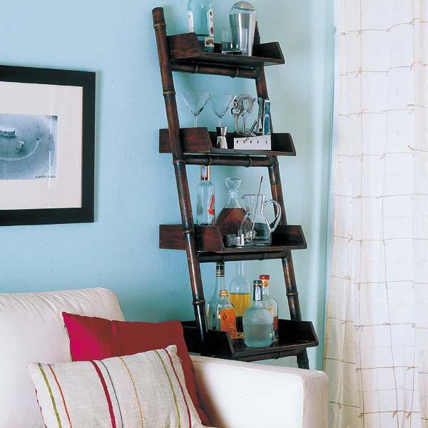 Small Coffee Bar Shelves