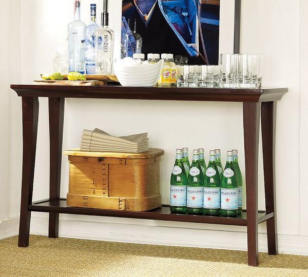 Space Saving Home Bar Design