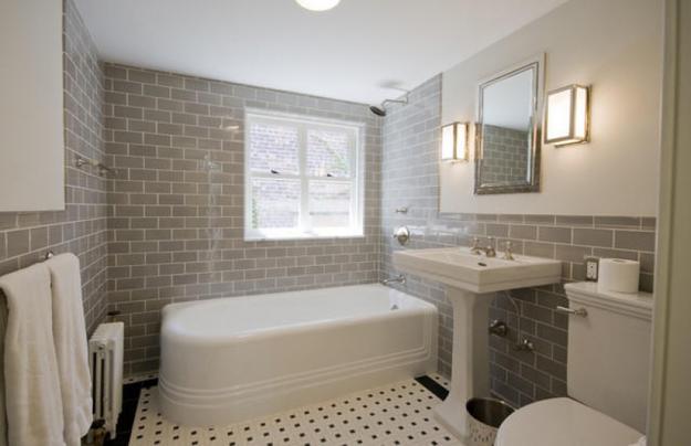 25 Bathroom Design Ideas In Pictures: Modern Interior Design Trends In Bathroom Tiles, 25