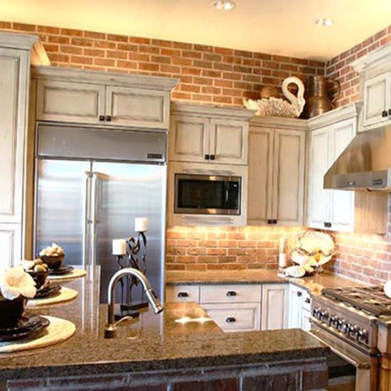 Wall Kitchen Design: 25 Exposed Brick Wall Designs Defining One Of Latest