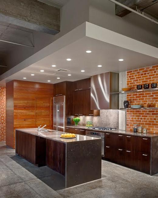 Combined Kitchen Dining Room Spaces