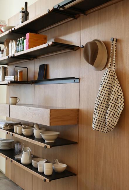 modern storage shelving system