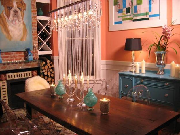 How To Use Orange And Blue Color Schemes For Modern Interior Design