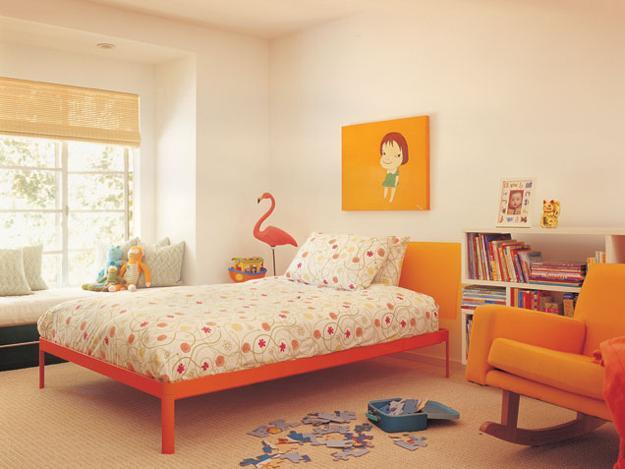 How to Use Orange and Blue Color Schemes for Modern Interior Design ...