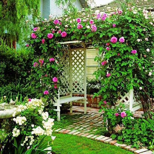 Outdoor Home Decor: 30 Modern Ideas For Outdoor Home Decorating With Flowers