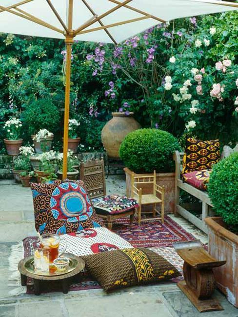 Outdoor Patio Decorating Ideas Hanging Plants