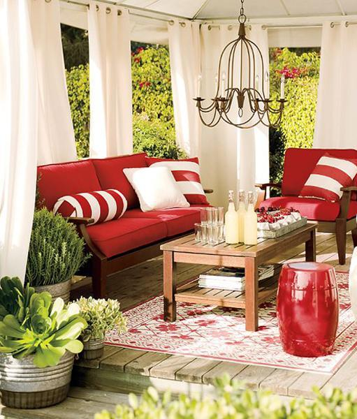 Home Decor Canada: 50 Red And White Home Decorating Ideas For Canada Day
