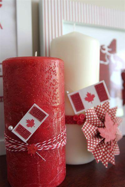 red and white decorating ideas